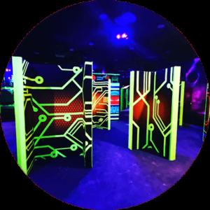 Laser Tag Arena Design