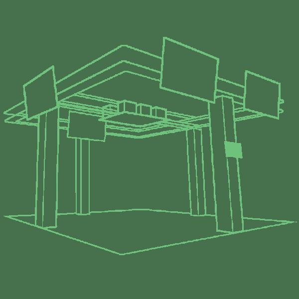 Hologate 3D View