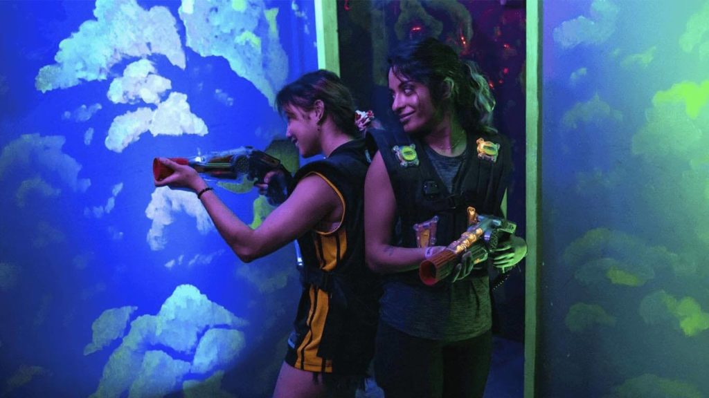 Laser Tag Players Helios2