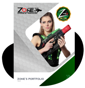 Zone Laser Tag Book Cover
