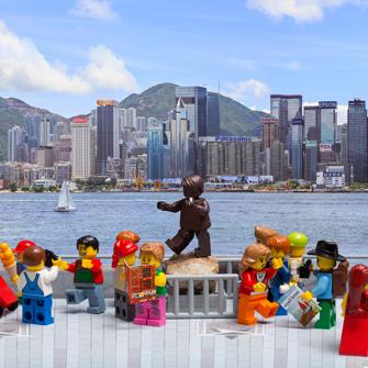 Affordable Art Festival Lego Hong Kong Bruce Lee