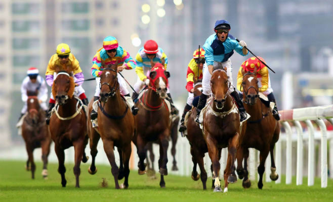 National Day Horse Racing Sha Tin Hong Kong