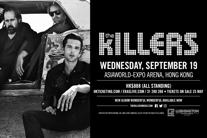 the killers hong kong