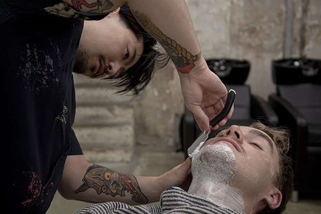 Movember Hong Kong Selvedge Barbers