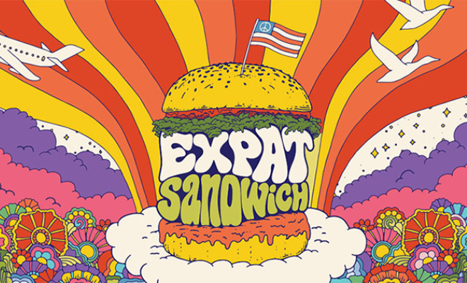 Addictive Podcasts - Expat Sandwich, American Expats