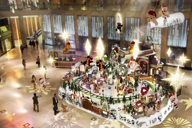 landmark christmas lights display