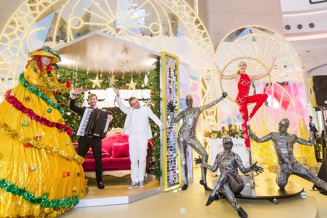 lee gardens christmas lights display