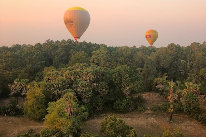 hot air balloon siem reap - things to do in siem reap