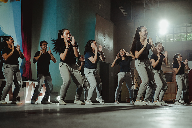 Dance classes Juillard NAIS