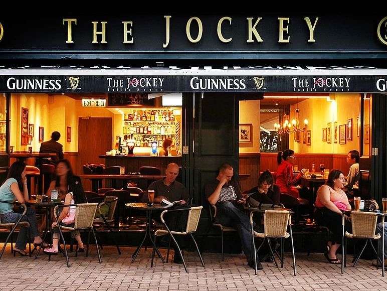the jockey football bar hong kong