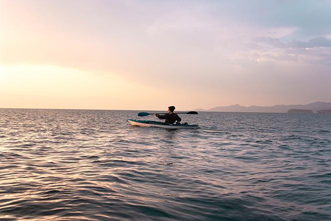 Father's Day gift ideas night kayak tour
