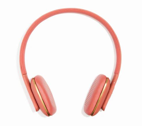 coral headphones