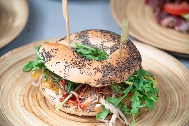 Best bagel sandwiches Hong Kong Bagel Factory