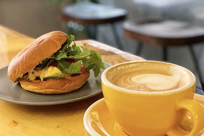 Best bagel sandwiches Hong Kong The Brew Corner