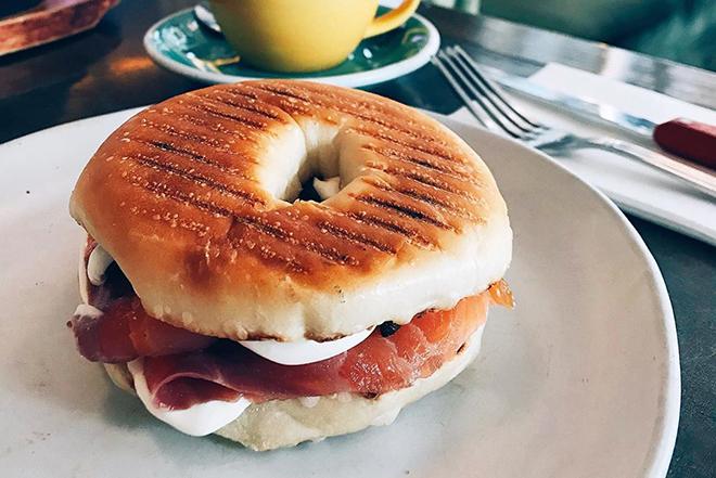 Best bagel sandwiches Hong Kong Feather & Bone