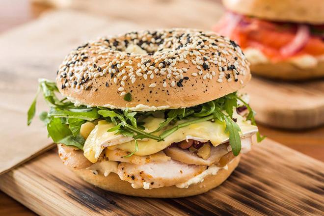Best bagel sandwiches Hong Kong R&R Bagels