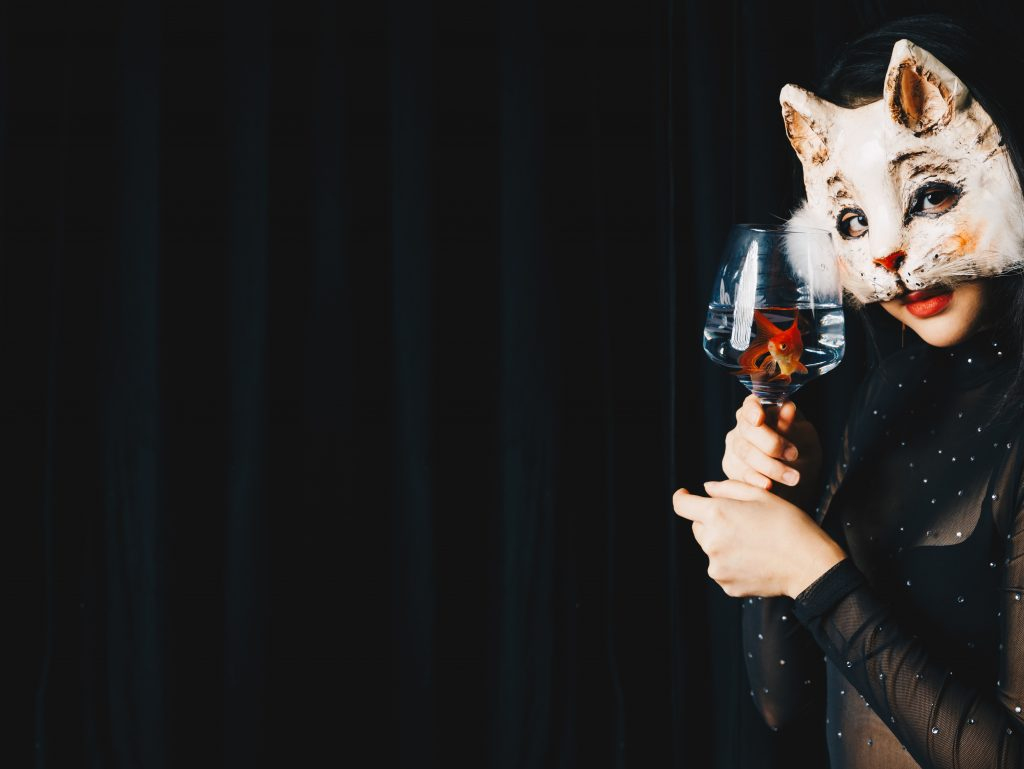 Ophelia Halloween Animaux Obscura