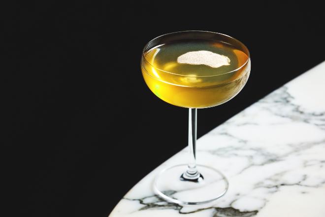 The Dispensary White Truffle Encounter cocktail hong kong new drinks november 2019