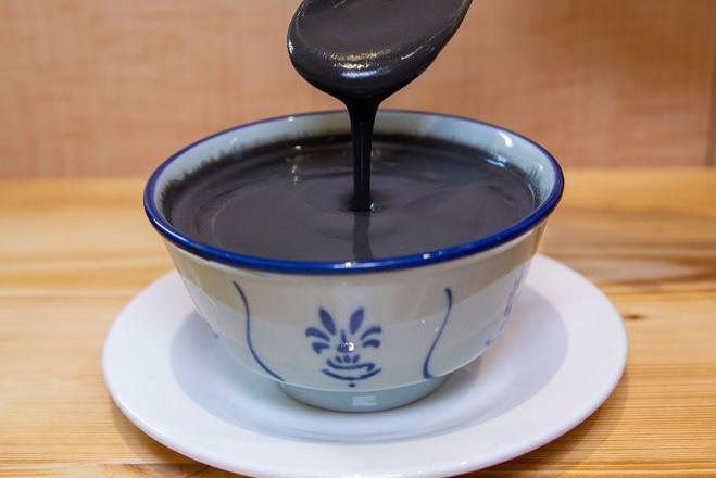 black sesame dessert soup kai kai dessert soup