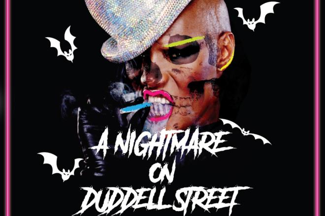 Disco bao halloween NIGHTMARE ON DUDDELL'S STREET