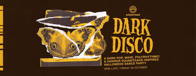 Potato Head halloween Dark Disco