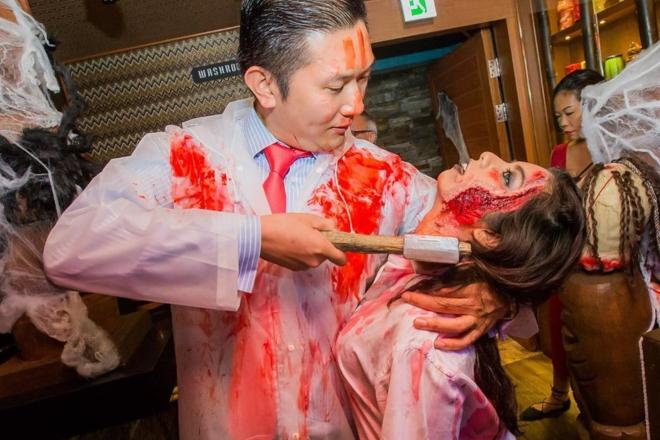 Wahtiki Freeflow Zombie Island Party halloween