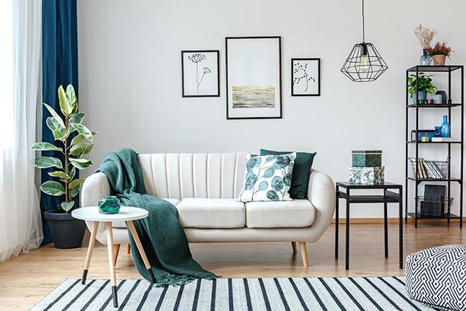 Interior design tips colour