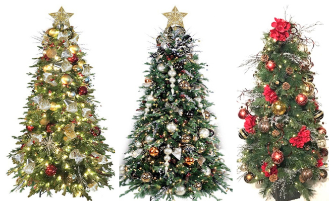 Da Silva artificial christmas trees