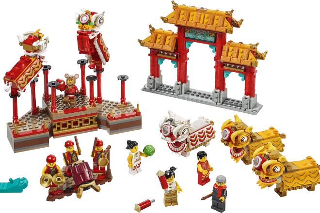 Lego Lunar New Year 2020 sets