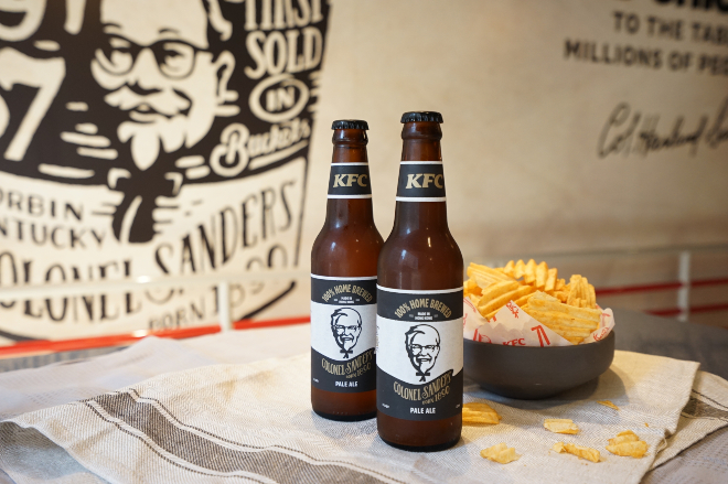 KFC Colonel Craft Beer