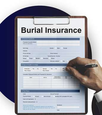 Hand Filling out Insurance Form