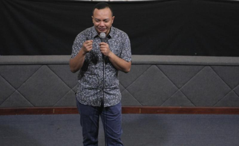 Richard Erlangga dalam acara Penumbuhan Minat Kewirausahaan Pemuda, Kementerian Pemuda dan Olahraga, Gelora, Jakarta pada Selasa, (10/7/18). Foto: (doc/MNEWS)
