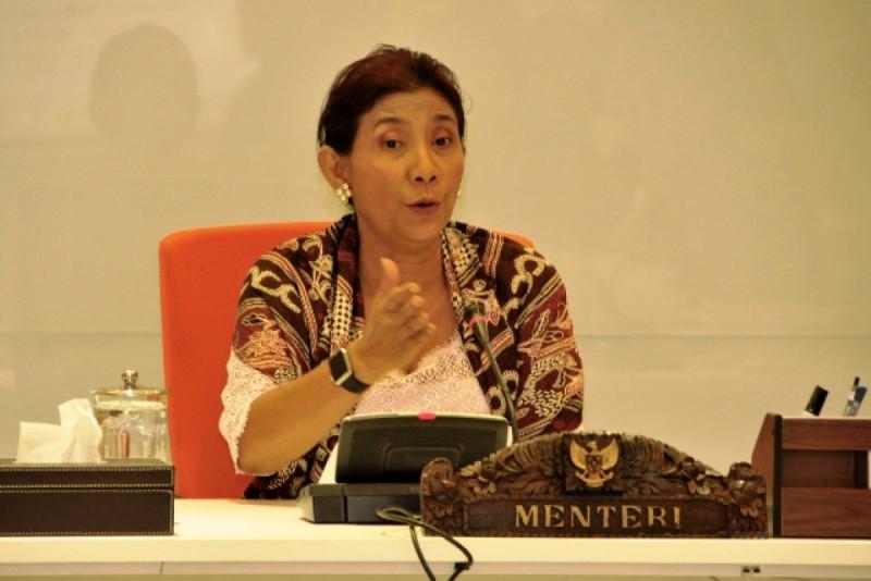 Susi Pudjiastuti, Menteri Kelautan dan Perikanan. Foto: (doc/KKP)