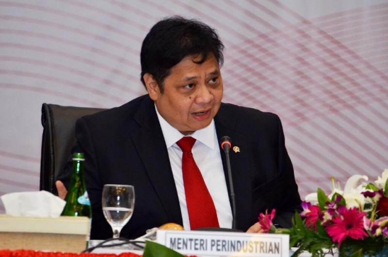 Airlangga Hartarto, Menteri Perindustrian. Foto: (doc/Kemenperin)