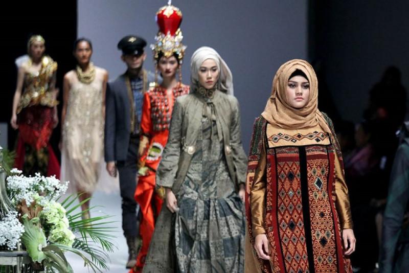 Ilustrasi fesyen muslim. Foto: Google Images.