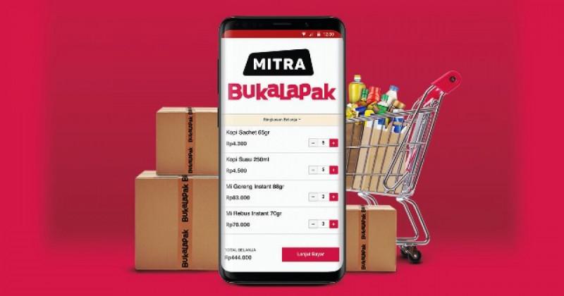 Ilustrasi Mitra Bukalapak. Foto: Mitra Bukalapak.