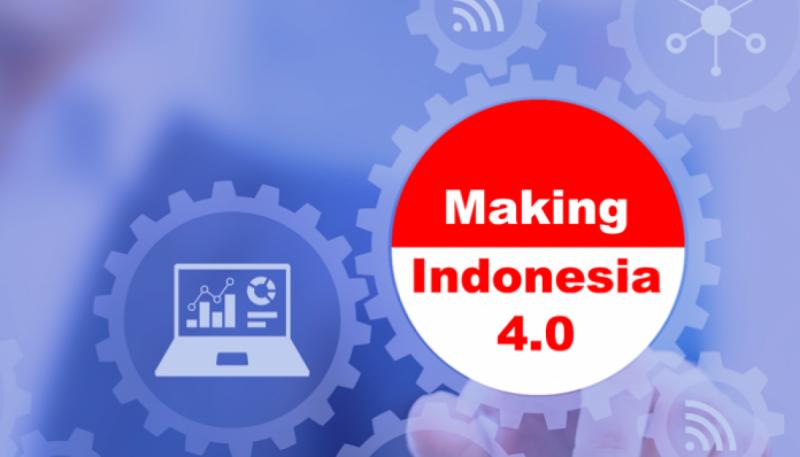 Making Indonesia 4.0. Foto: Setkab