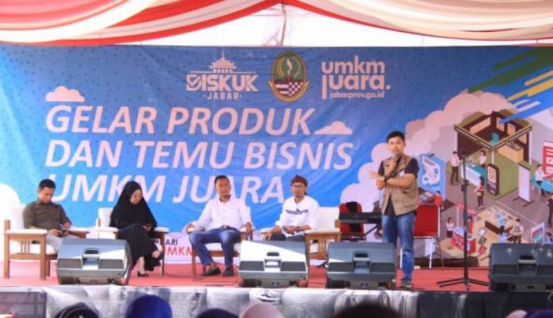 Kegiatan Gelar Produk dan Temu Bisnis UMKM Juara Diikuti 100 UMKM. (Foto : Dok. Kotasubang.com )
