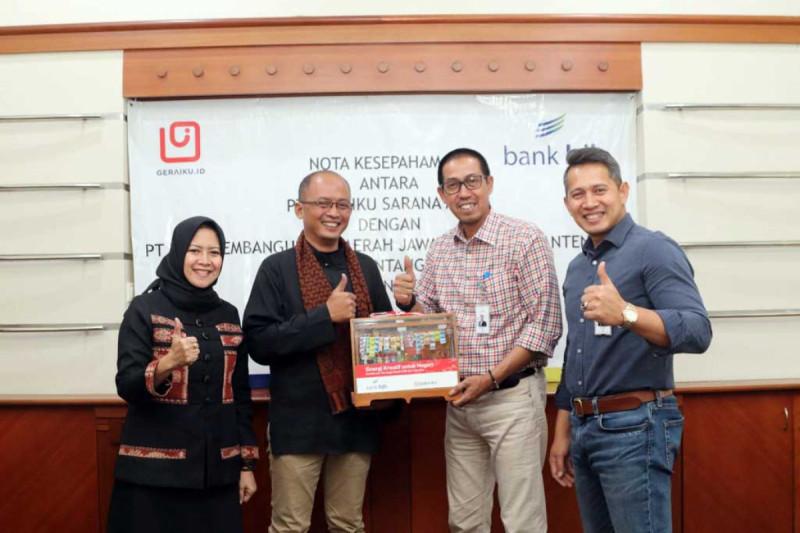 Penandatanganan kerja sama PT Bank Pembangunan Daerah Jawa Barat & Banten, Tbk (Bank BJB) dengan PT Geraiku Sarana Mulia (Geraiku). (Foto : Bank BJB)