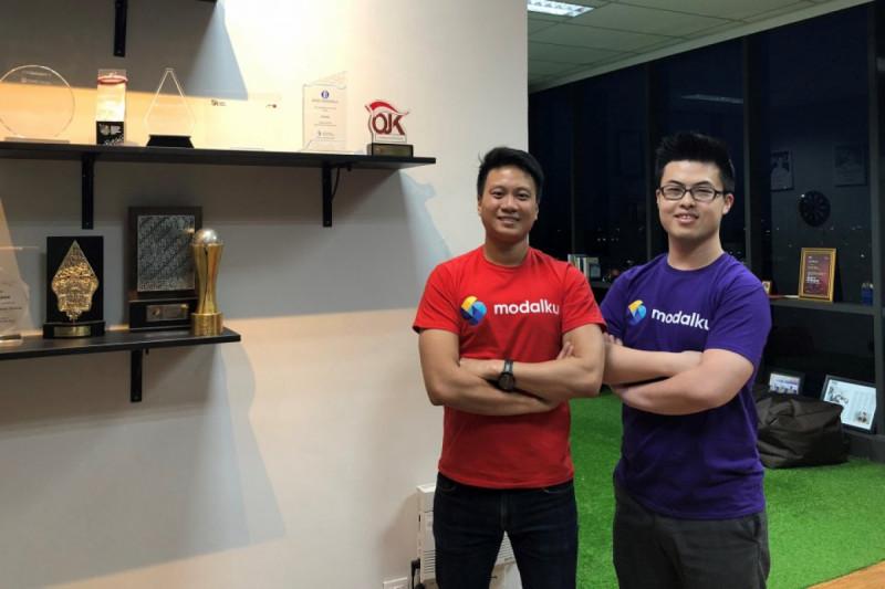 CEO sekaligus Co-Founder Modalku Reynold Wijaya dan COO sekaligus Co-Founder Modalku Iwan Kurniawan. (Foto: Modalku)