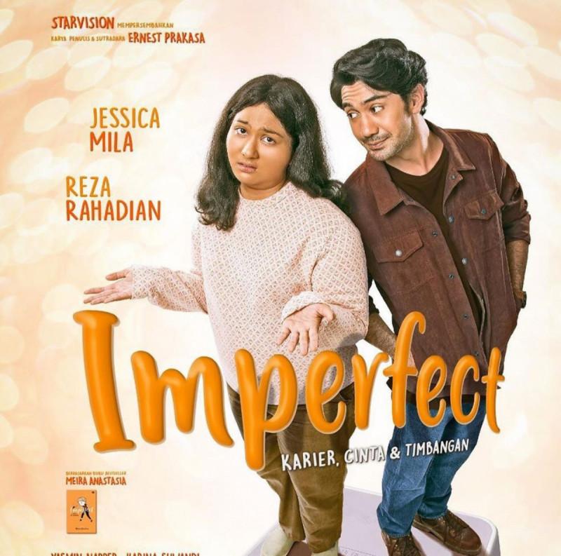 Poster Film IMPERFECT. (Foto: Instagram/ernestprakasa)