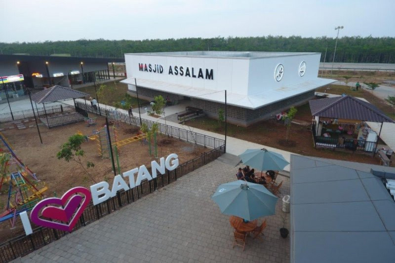 Salah satu sisi Rest Area 360 Tol Semarang-Batang, Jawa Tengah. (Foto: PT Jasa Marga (Persero) Tbk)