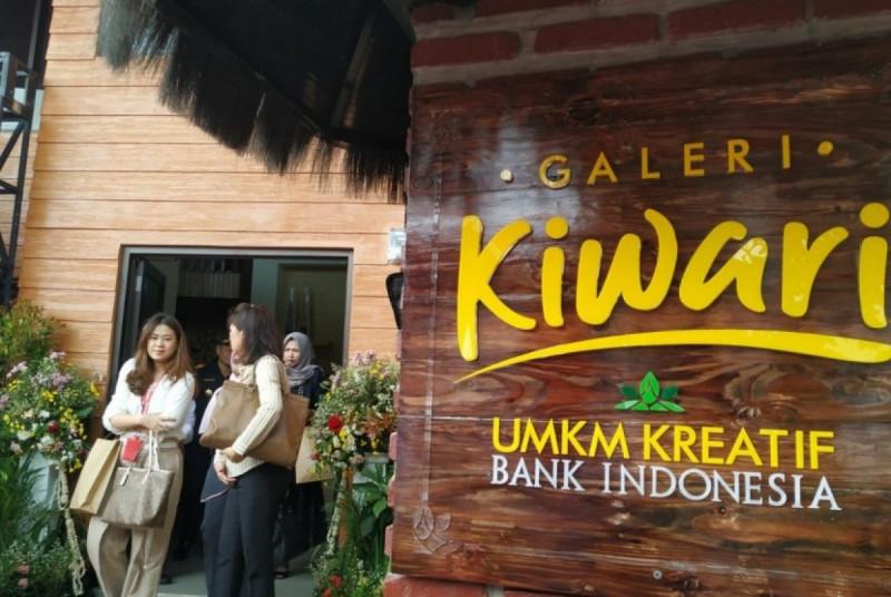 Suasana Galeri Kiwari di Kelurahan Argasari, Kecamatan Cihideung, Kota Tasikmalaya. (Foto: Bayu Adji P)