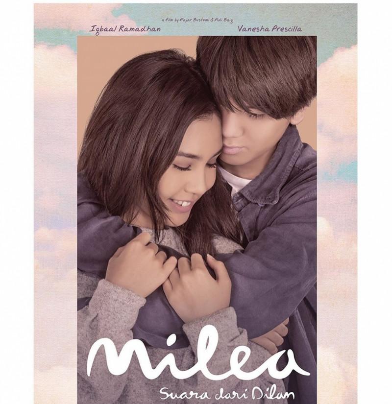 Poster Film Milea : Suara dari Dilan. (Foto: Instagram/_maxpictures)