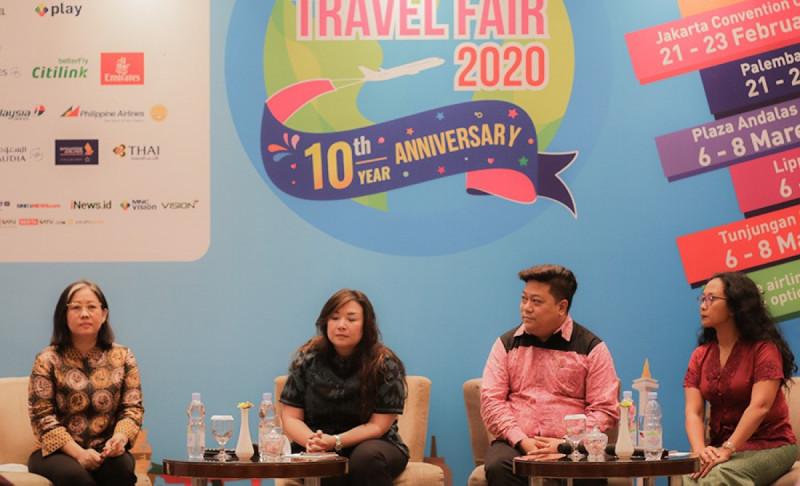 Konferensi Pers ASTINDO Travel Fair 2020, Sabtu (15/2/20). (Foto: Dok Kemenparekraf)