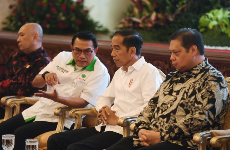 Pembukaan ASAFF 2020 di Istana Negara, Jakarta, Kamis (12/3/2020). (Foto: ANTARA FOTO/Akbar Nugroho Guma)
