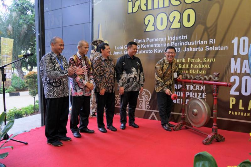 Pameran Kerajinan Jogja Istimewa 2020 di Plasa Industri, Jakarta. (Foto: Kemenperin)