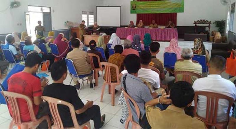 Puluhan Warga Surade Dididik Berwirausaha. (Foto: Radar Sukabumi)