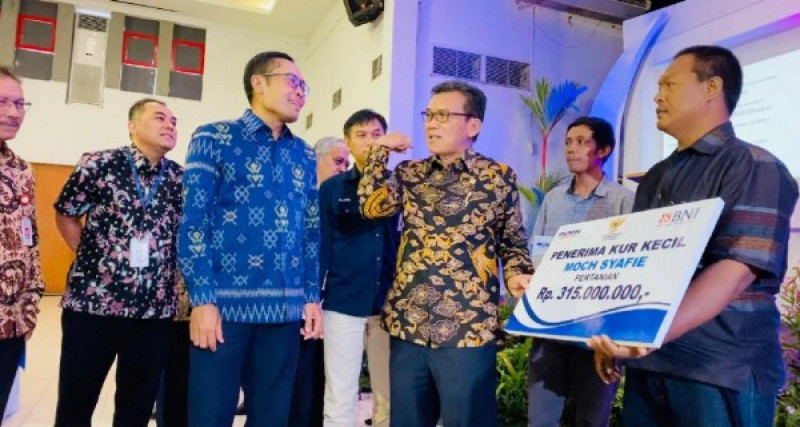 Jamkrindo Sosialisasikan Program KUR kepada UMKM di Kudus. (Foto: Dok. Jamkrindo)