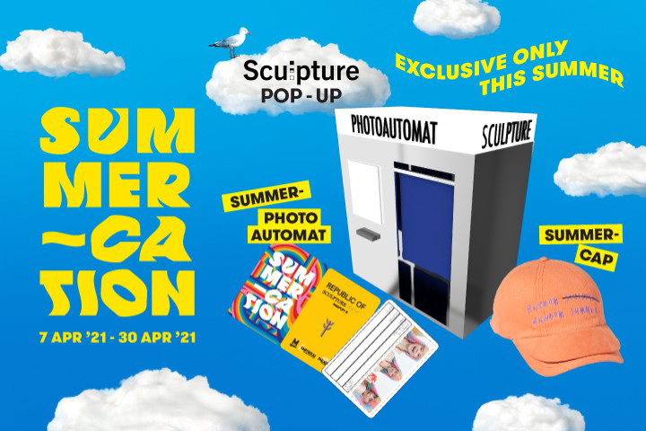 Summer-Cation Sculpture Pop-up